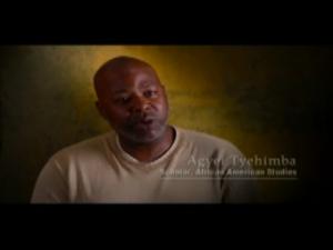Agyei Speaking in Documentary