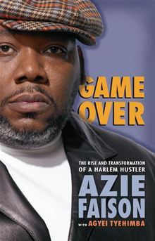Azie Faison pictured on the cover of his 2007 memoir.
