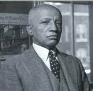 Carter Godwin Woodson, founder of Black History Month, scholar, author and institution-builder