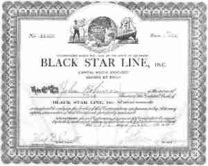 black sar line