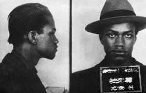 1944 Police Mugshot Of Malcolm X
