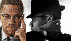 malcolm collage
