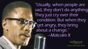 malcolm angry