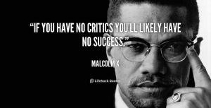 malcolm critics